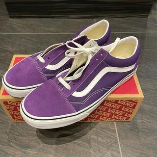 VANS - VANS old skool violet indigo US11 29cm