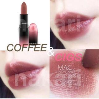 マック(MAC)の新品 未使用 MAC リップスティック コーヒーアンドシグス(口紅)
