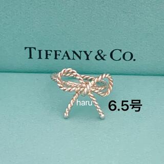 Tiffany & Co. - 希少廃盤TIFFANY&Co. ティファニーツイストリボンリング シルバー