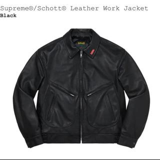 Supreme - Supreme®/Schott® Leather Work Jacket