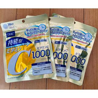 ディーエイチシー(DHC)の持続型ビタミンC 30日分×1袋(ビタミン)