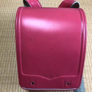 ランドセル ピンク セイバン 日本製 中古品