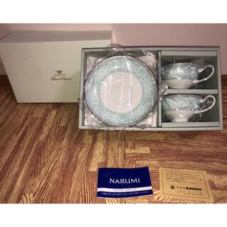 NARUMI - 【未使用】NARUMI(ナルミ) ティーコーヒー兼用カップ&ソーサー
