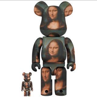 メディコムトイ(MEDICOM TOY)のBE@RBRICK Mona Lisa モナリザ 100& 400%(フィギュア)