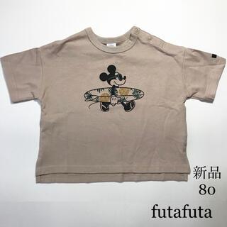 futafuta - 新品 futafuta フタフタ サーフミッキー Tシャツ 80