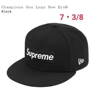シュプリーム(Supreme)のSupreme champions box logo new era(キャップ)