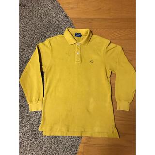 フレッドペリー(FRED PERRY)のフレッドペリー 長袖 ポロシャツ マスタード S相当 日本製 xpv (ポロシャツ)