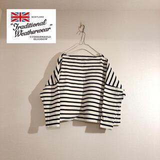 IENA - 【トラディショナルウェザーウェア】BMB(ビッグマリン ボートネックシャツ)