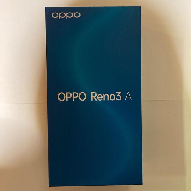 OPPO(オッポ)のOPPO Reno3 A ホワイト  スマホ/家電/カメラのスマートフォン/携帯電話(スマートフォン本体)の商品写真