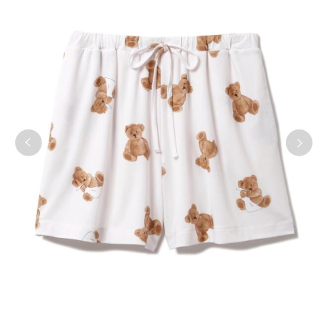 gelato pique(ジェラートピケ)のジェラートピケ ベアモチーフ抗菌防臭 Tシャツ ショートパンツ セット 新品  レディースのルームウェア/パジャマ(ルームウェア)の商品写真