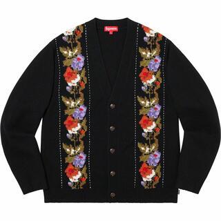 Supreme - Supreme Floral Stripe Cardigan カーディガン XL