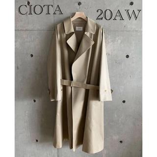 COMOLI - 【新品】CIOTA 20aw タイロッケンコート サイズ6 新品タグ付