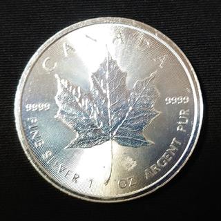 メイプル/メープルリーフ純銀貨 カナダ 1oz $5 2018年