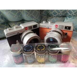 カメラ缶 望遠レンズタイプ フィルム缶 3個セット チョコレート 新品 プレゼン(菓子/デザート)