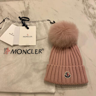 MONCLER - モンクレール ニットキャップ ピンク
