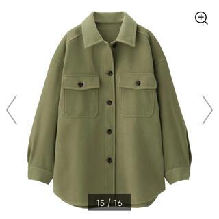 ジーユー(GU)の未使用タグ付き CPOジャケット オーバーサイズシャツジャケット(その他)
