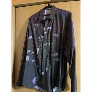 JOHN LAWRENCE SULLIVAN - ジョンローレンスサリバン コリーブラウン シャツ メンズ ファッション