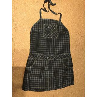 アナスイ(ANNA SUI)のアナスイ ホルターネック型ジャンバースカート(ひざ丈スカート)
