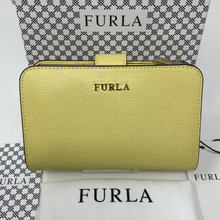 Furla - 未使用☺︎FURLA フルラ 二つ折り財布 イエロー ベルト 黄色 財布
