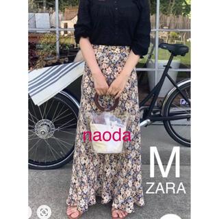ZARA - 【タグ付き新品】ザラ フラワー 花柄 フレア スカート  五明祐子さん