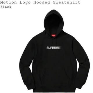 シュプリーム(Supreme)のSupreme Motion Logo Sweatshirt Black XL(パーカー)