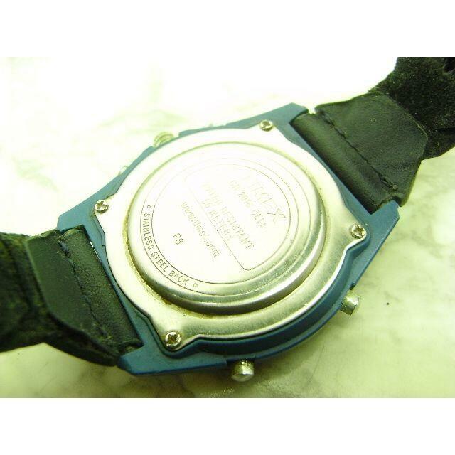 TIMEX(タイメックス)のヴィンテージ タイメック TIMEX EXPEDITION ブルー&ブラック メンズの時計(腕時計(アナログ))の商品写真