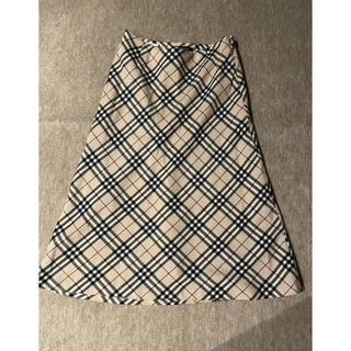 BURBERRY - お買い得♡ バーバリー ロンドン ロングフレアスカート