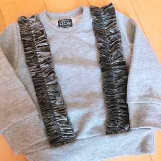 ラゲッドワークス(RUGGEDWORKS)のrugged works トレーナー 100(Tシャツ/カットソー)