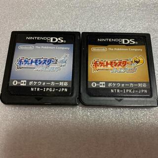 ニンテンドーDS(ニンテンドーDS)のポケモン ハートゴールド ソウルシルバー(携帯用ゲームソフト)