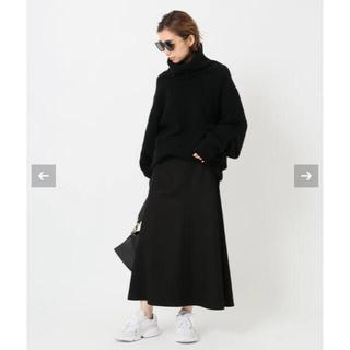 DEUXIEME CLASSE - EVERYDAY FLARE スカート BLACK 36