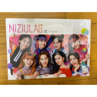 NiziU クリアファイル ソフトバンク