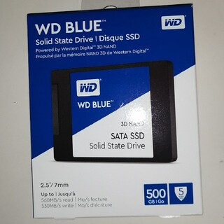 WD BLUE SATA SSD 500GB