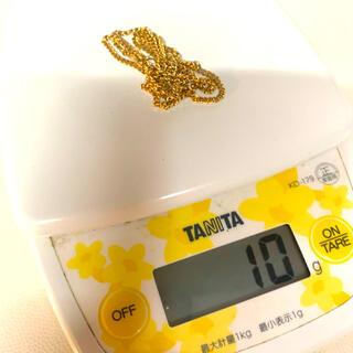ラクマ最安値 k18 2面喜平 10g 45cm