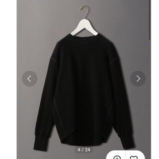 BEAUTY&YOUTH UNITED ARROWS - 6(ROKU) THERMAL COLOR STITCH LONG SLEEVE