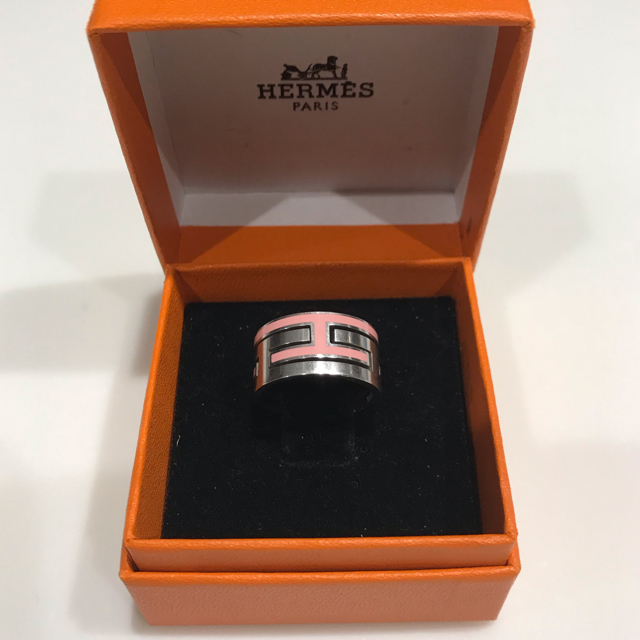 Hermes(エルメス)のHermes ムーブアッシュリング ピンク 53 レディースのアクセサリー(リング(指輪))の商品写真