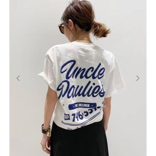 アパルトモンドゥーズィエムクラス(L'Appartement DEUXIEME CLASSE)のアパルトモン UNCLE PAULIE'SアンクルポーリーPOCKET T-SH(Tシャツ(半袖/袖なし))