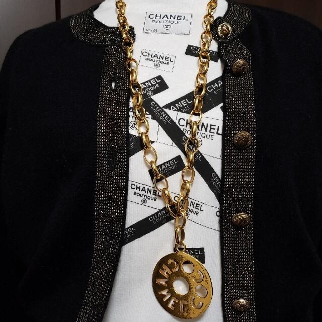 CHANEL(シャネル)のセリーヌ様専用 シャネル ヴィンテージ ネックレス レア レディースのアクセサリー(ネックレス)の商品写真