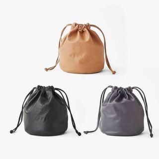 MARTE Fake Leather Mini bag GLAY(トートバッグ)
