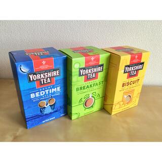 ディーンアンドデルーカ(DEAN & DELUCA)の新品YORKSHIRETEAヨークシャーティーディカフェ&BF&ビスケット(茶)