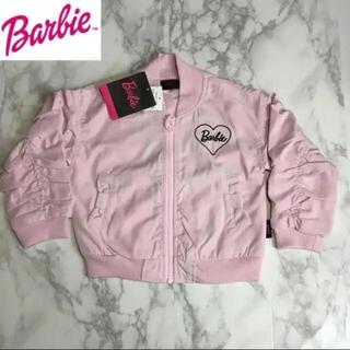 バービー(Barbie)の即購入OK!新品タグ付★キッズ Barbie バービー ブルゾン 95cm PK(ジャケット/上着)
