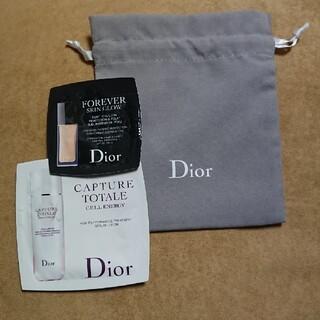 Dior - dior 巾着ポーチ サンプル