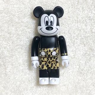 ディズニー(Disney)のBE@RBRICK ベアブリック ミッキー ヒョウ柄 joyrich フィギュア(フィギュア)