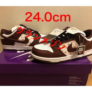 Supreme - 希少 Supreme Nike Sb Dunk Low Brown 24.0cm