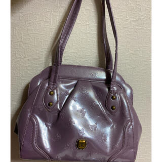 ANNA SUI - ANNA SUI ハンドバック 薄紫