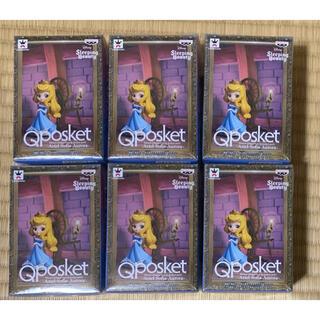 オーロラヒメ(オーロラ姫)のディズニー Qposket    キューポスケット オーロラ姫 6体(アニメ/ゲーム)