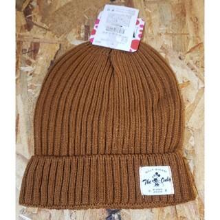 ミニーマウス ニット帽 ブラウン(ニット帽/ビーニー)