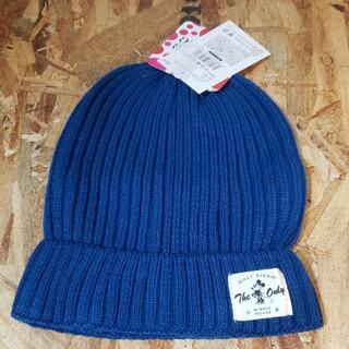 ミニーマウス ニット帽 ブルー(ニット帽/ビーニー)