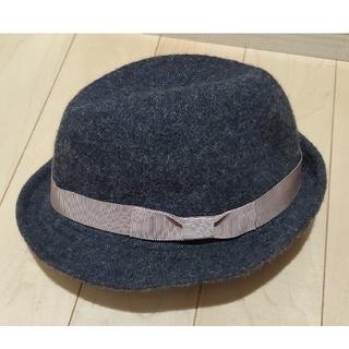 サマンサモスモス(SM2)のSM2 サマンサモスモス 中折れハット 帽子 ウール(ハット)