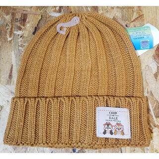 チップ&デール ニット帽 キャメル(ニット帽/ビーニー)