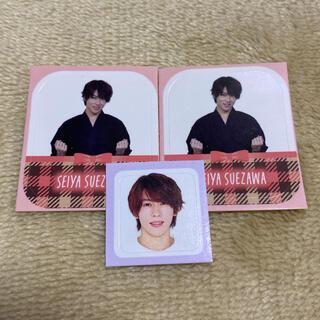 ジャニーズ(Johnny's)のMyojo duet 2021年 3月号 4月号 シール 末澤誠也 厚紙(アイドルグッズ)